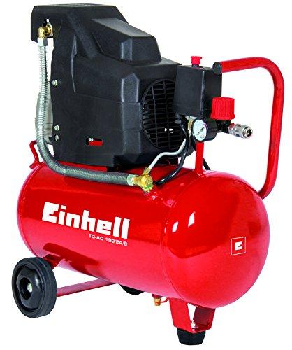 Einhell-Kompressor-TC-AC-190248-15-kW-24-l-Ansaugleistung-160-lmin-8-bar-automatischer-Druckschalter