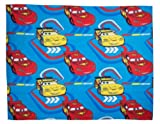 Character World Disney Cars Speed Rotary Fleece Blanket, Multi-Color
