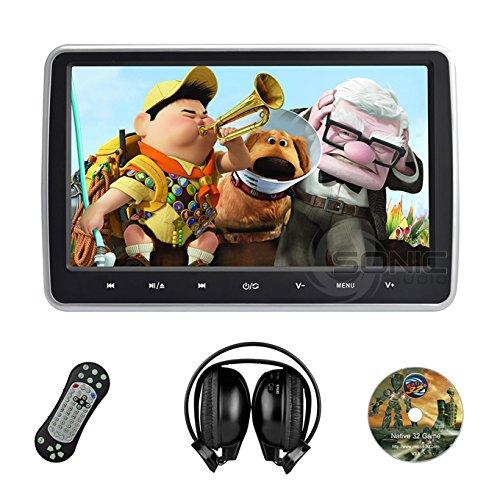 sonic-audio-hr-10c-lecteur-dvd-universel-avec-ecran-101-casque-audio-sans-fil-infrarouge-port-usb-sd