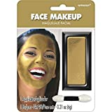 Amscan Face Makeup, Party Accessory, Gold