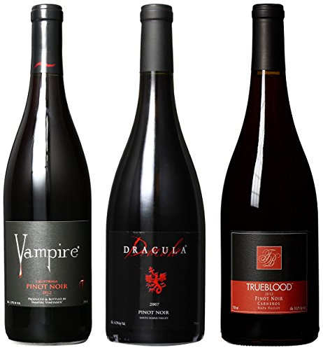 Vampire Vineyards Pinot Noir Mixed Pack, 3 X 750 Ml