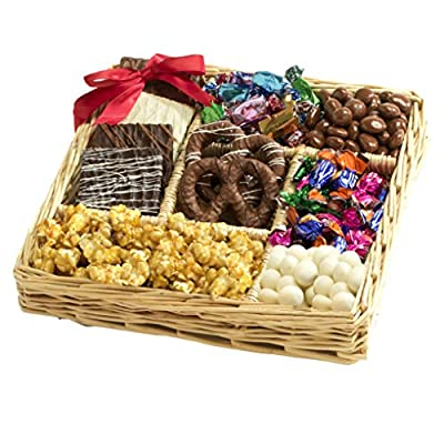 Broadway Basketeers Chocolate & Nut Gift Tray by Broadway Basketeers