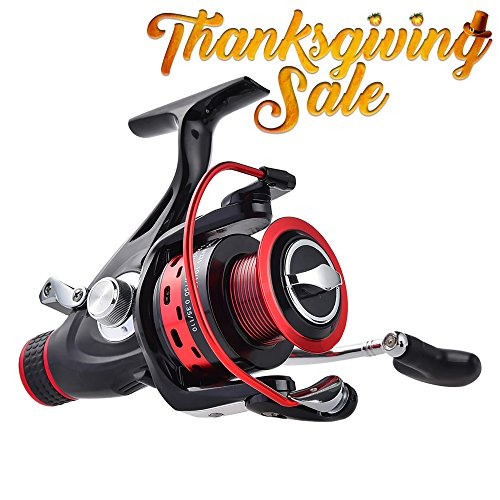 KastKing Baitfeeder Fishing Reels, Saltwater Big Game Spinning Reel, Fishing Reel for Catfish (Open Face Catfish Reels compare prices)