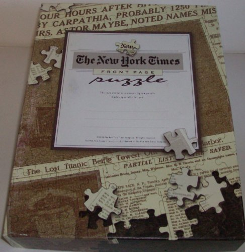 The New York Times Front Page 400 Piece Puzzle - 1