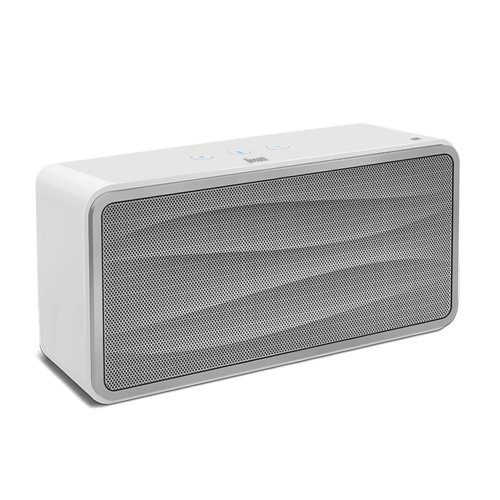 Satechi Divoom Onbeat 500 Wireless Bluetooth Speaker With Nfc For Smartphones Tablets Laptops Computers And Music Players Including Iphone Ipad Samsung Galaxy Series Blackberry Droid And More White Morendissban