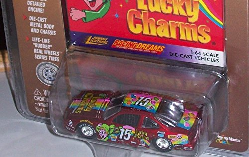 JOHNNY LIGHTNING RACING DREAMS CEREAL SERIES 1:64 DIE-CAST LUCKY CHARMS VEHICLE by Johnny Lightning