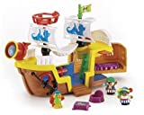 FISHER PRICE WORLD OF LITTLE PEOPLE - LIL PIRATE SHIP