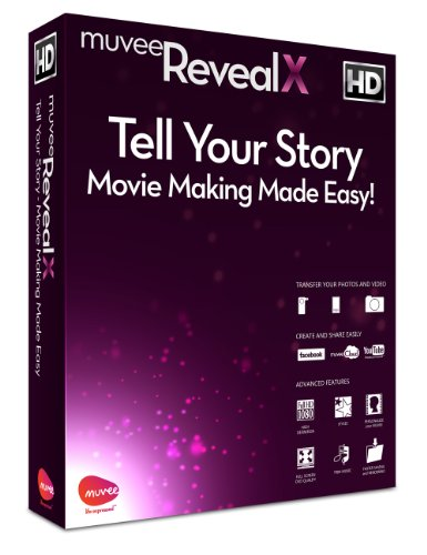 muvee Reveal X Video Editing Software [2013]
