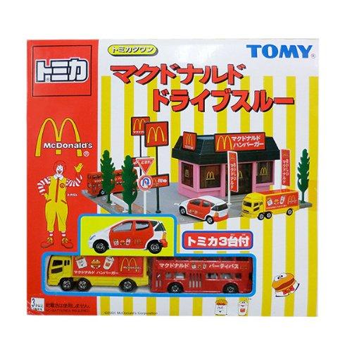 TOMY トミカ【トミカタウン】 マクドナルドドライブスルー 110915