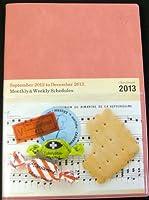 2012年9月はじまり ダイアリー B6サイズ アッシュピンク スケジュール帳 ryuryu/リュリュ (2012年9月よりお使いいただけます) db-09