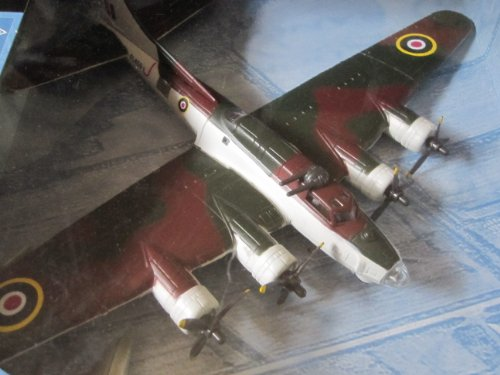 B-17 Royay Air Force 1:72 Scale Model By New Ray with Display Stand