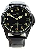 Military Watches Limited Edition Seagull No.1 Green Sapphire Crystal Special Men's Automatic Military Watch Black PVD Luminous