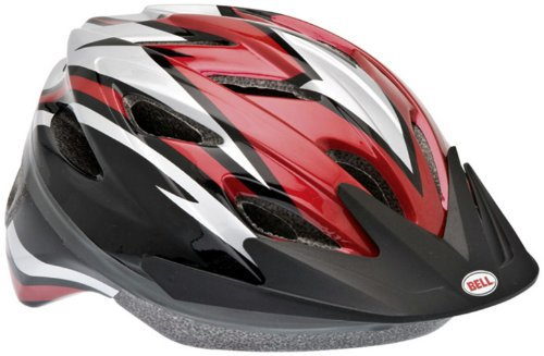 Buy Low Price Bell Blade Youth Bike Helmet (Red Spears/Red) (B004P25UZO)
