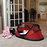 PeaPod Indoor/Outdoor Small Travel Bed - Red