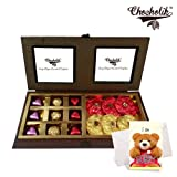 Heavenly Treat Of Wrapped Chocolates,rocks And Truffles With Sorry Card - Chocholik Chocolate Premium Gifts
