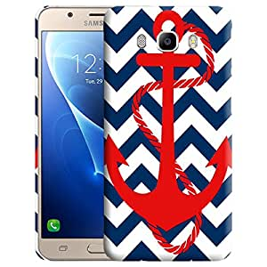 Theskinmantra Anchor blue Back cover for Samsung Galaxy J5 (2016 Edition)