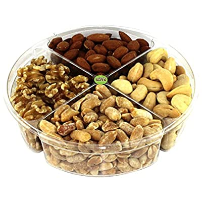 Premium Gourmet Nuts Gift Basket Assortment Healthy Fresh and Roasted.