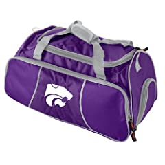 Buy Brand New Kansas State Wildcats NCAA Athletic Duffel Bag by Things for You