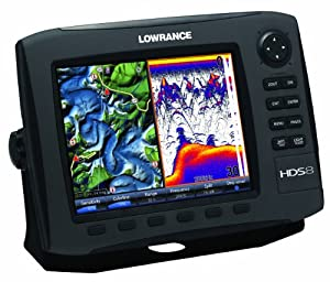 Lowrance HDS-8 GEN2 Plotter Sounder, with 8.4-inch LCD, Insight USA Cartography, and 83 200KHz Transducer. by Lowrance