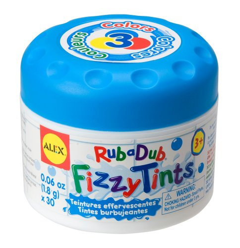 ALEX® Toys - Bathtime Fun Fizzy Tints Display, 638X