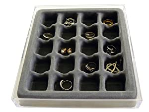 Axis 3301 Stack 'em Jewelry Organizer Ring and Earring Tray
