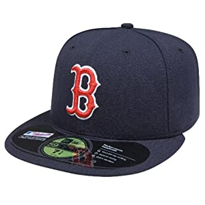 Boston Red Sox Logo Merchandise Authentic On Field Game 59Fifty Cap