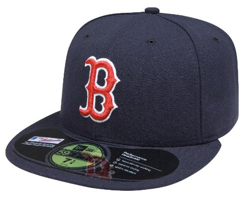 MLB Boston Red Sox Authentic On Field Game 59FIFTY Cap, 7 1/4, Navy/Red at Amazon.com