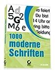 1000 moderne Schriften