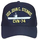 USS John C. Stennis CVN-74 Ship Ball Cap