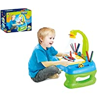 Toys Bhoomi 4 In 1 Projector Learning Desk - Table Lamp, Projection, Painting & Spelling Learning