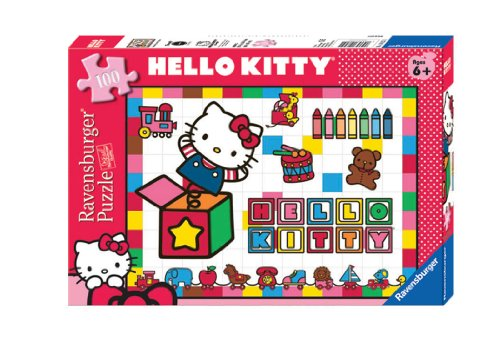 Hello Kitty: In the Toybox - 100 Piece Puzzle