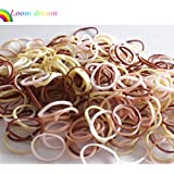 loom dreamTM-600 MIXED SKIN Loom Bands & 24 S-Clips