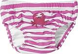 Playshoes Baby - Mädchen Schwimmbekleidung, gestreift 460100 Windelhose / Badehose Krebs von Playshoes mit höchstem UV-Schutz nach Standard 801 und Oeko-Tex Standard 100, Gr. 62/68, Pink (900 original)