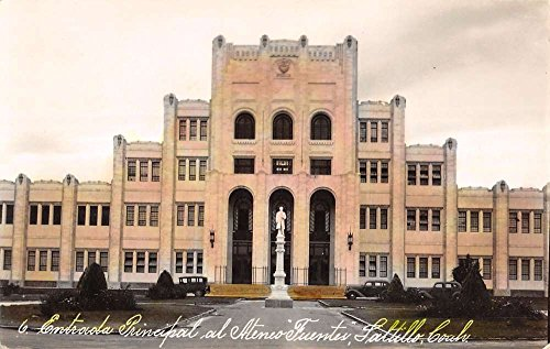 saltillo-mexico-ateneo-fuentes-high-school-tinted-real-photo-antique-pc-k18937
