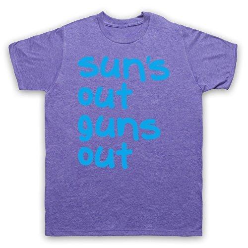 My Icon Art & Clothing -  T-shirt - Maniche corte  - Uomo Vintage Purple XX-Large