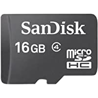 SanDisk 16 GB Class 4 microSDHC Flash Memory Card by SanDisk