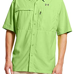 Under Armour Mens Flats Guide Short Sleeve Shirt by Under Armour