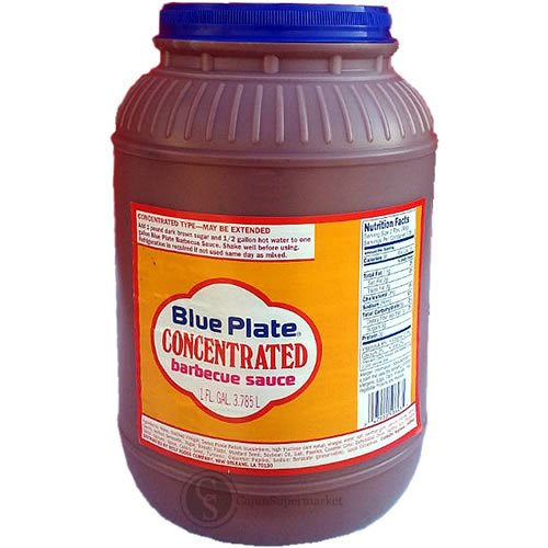 Blue Plate Concentrated BBQ Sauce 1 Gallon (New Orleans Bbq Sauce compare prices)