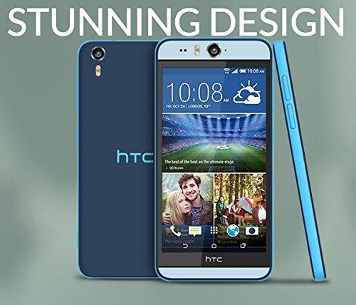 """NEW 5.2"""" HTC Desire EYE 4G LTE 16GB Blue UNLOCKED 1 Year Warranty"""