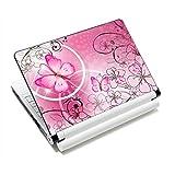 Pink Butterflies & Flowers NEW 11.6