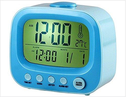 Tv Shaped Alarm Clock (Blue)
