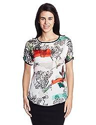 Lee Women's Tunic Shirt (LESH9154_White_X-Large)