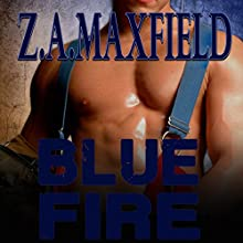 Blue Fire Audiobook by Z. A. Maxfield Narrated by Shannon Gun