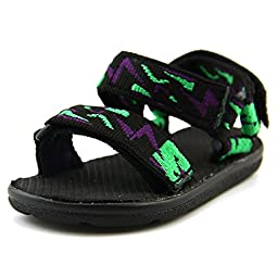 Jumping Jacks Climber Sport Sandal (Toddler/Little Kid),Black,22 EU(5.5 W US Toddler)