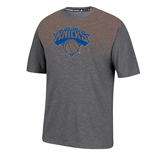 NBA New York Knicks Men's Surface Short Sleeve Tee, Large, Dark Gray (Nba Jersey New York Knicks compare prices)