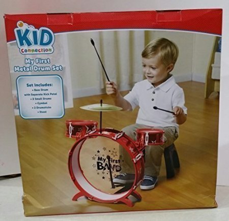 kid connection my first metal drum set instructions