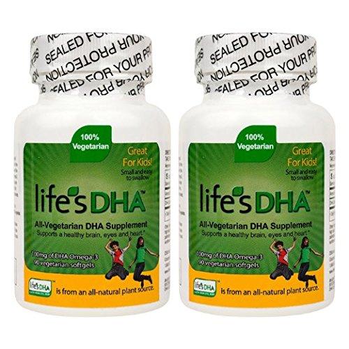 Martek Life's DHA Omega-3 DHA 100mg 90 All-vegetarian Softgels Kids (pack of 2) (Ocean Kids Omega compare prices)