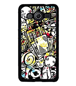 Vizagbeats Casino Games Gamblings Back Case Cover For Samsung Galaxy Core 2