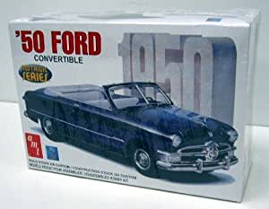 1950 Ford Convertible #38451 Nostalgic Series Model Kit AMT
