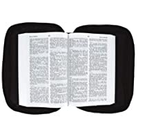 NEW Black Genuine Leather Bible Cover Case